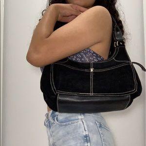 St. john bay's vintage black small purse